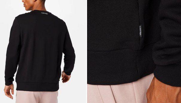 Calvin Klein Sweatshirt Summer Center Logo in Schwarz für 44,95€ (statt 63€)