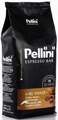 Pellini Caffè Vivace No. 82   Bohnenkaffee 1 x 1 kg im Sparabo für 8,71€ (statt 17€)