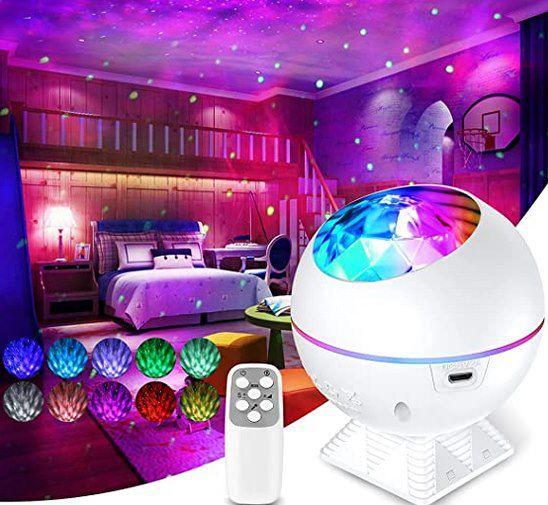 ceshu LED Sternenhimmel Projektor mit 40 Farben & Fernbedienung für 22,19€ (statt 37€)