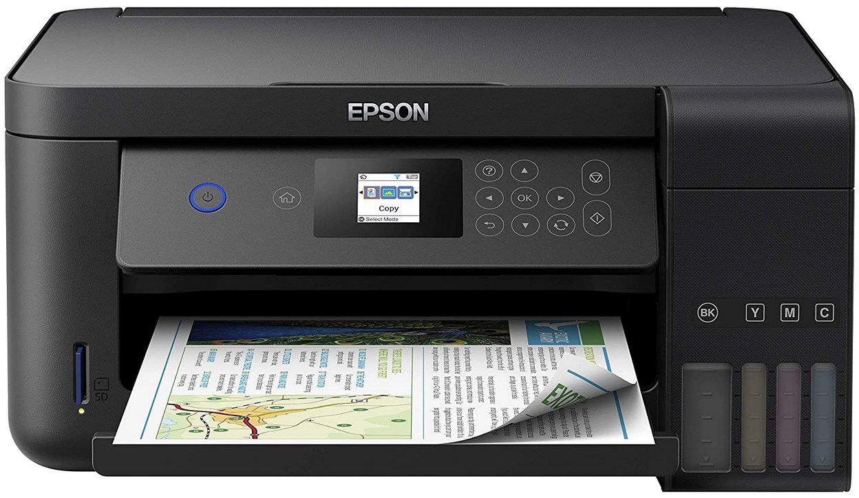 Epson EcoTank ET 2750 3 in 1 Tintenstrahl Multifunktionsgerät für 259,12€ (statt 286€)