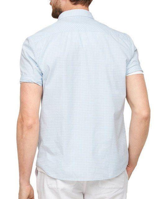 s.Oliver Kurzarmhemd Regular aus Baumwolle für 20,15€ (statt 25€)