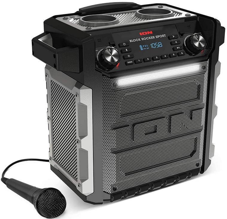 ION Audio Block Rocker Sport   100Watt Bluetooth Party Lautsprecher mit Akku für 93,27€ (statt 205€)