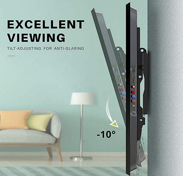 USX MOUNT   TV & Monitorwandhalterung für 26 bis 55 Zoll & 45kg für 9,49€ (statt 19€)   Prime