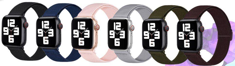 50% Rabatt auf AFERIY Nylonarmbänder für Apple Watch ab 5,99€ (statt 13€)   Prime