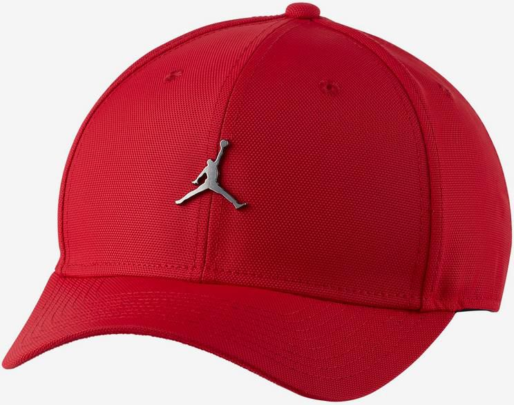 Jordan Jumpman Classic99 Metal Basecap in Schwarz oder Rot für 17,98€ (statt 27€)