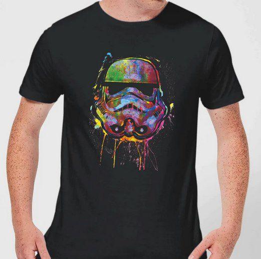 Star Wars Paint Splat Stormtrooper T-Shirt für 9,99€ (statt 18€)