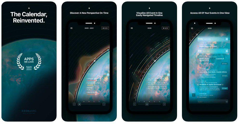 TITAN By KRON   Kalender für iOS gratis (statt 3,49€)