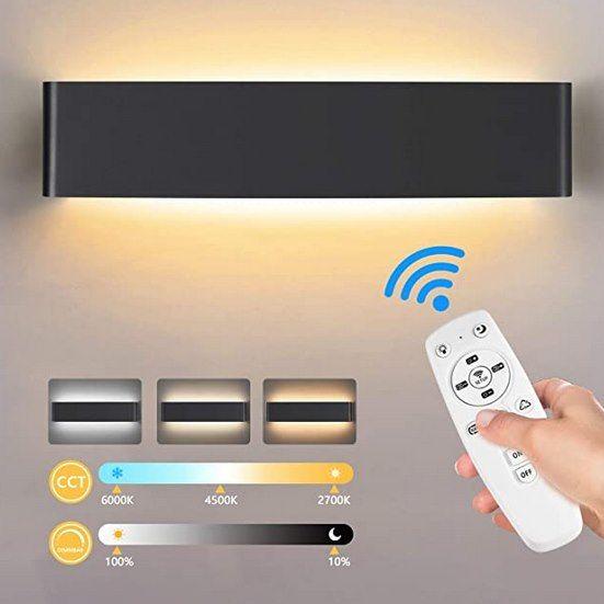 Lureshine LED Wandleuchte mit 20W inkl. Fernbedienung für 17,49€ (statt 35€)