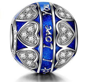 Ninaqueen Charm I love you in Blau für 14,99€ (statt 27€)