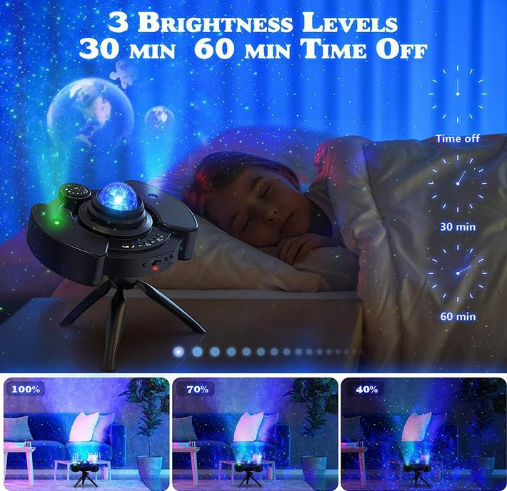 KPCB Sternenhimmel Projektor Lampe mit 22 Projektionsmodi für 21,49€ (statt 43€)