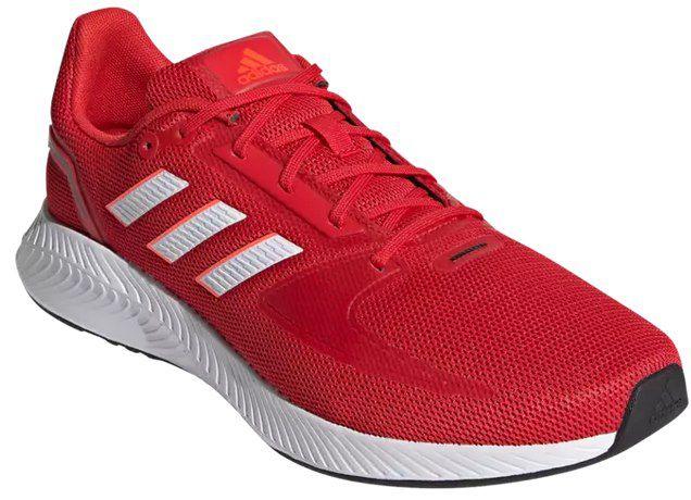 adidas Runfalcon 2.0 Unisex Sneaker in Rot für 32,95€ (statt 50€)