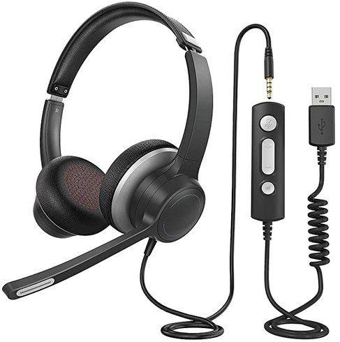 Lovchter HC6 Headset mit Mikrofon (USB / 3,5mm) für 6,99€ – Prime