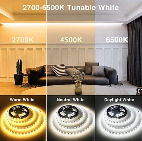 iMaihom 6m LED Streifen (warm & kaltweiß) inkl. Fernbedienung für 14,99€ (statt 25€)   Prime