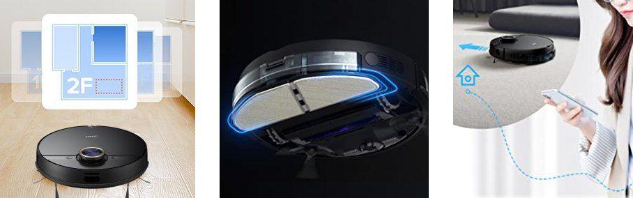 Midea M7 Pro 4000Pa Saugroboter mit Wischfunktion & LiDAR Navigation für 247,64€ (statt 284€)