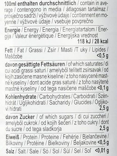 Rauch Culinary Zitronensaft 100% (6 x 1 l) für 6,78€ (statt 19€)   Prime