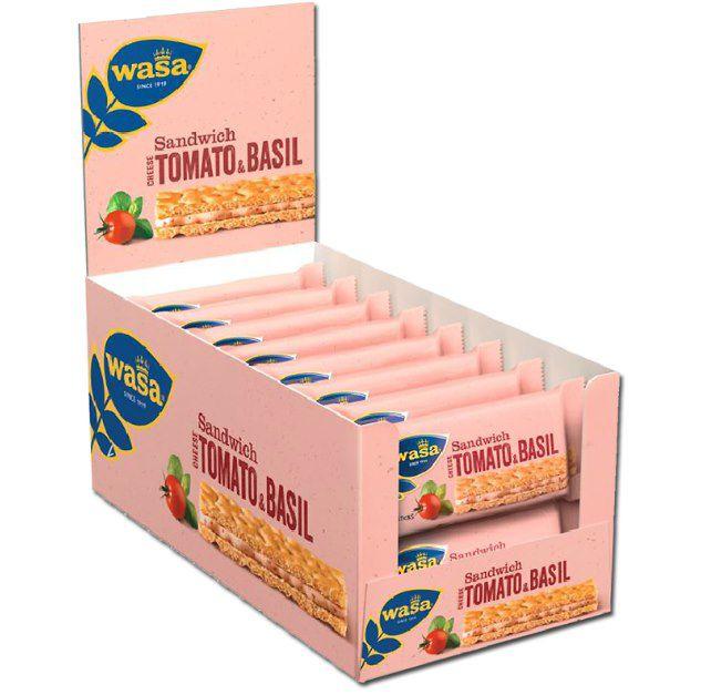 30x Wasa Sandwich Käse in verschiedenen Sorten ab 8,94€ (statt 19€) – Prime