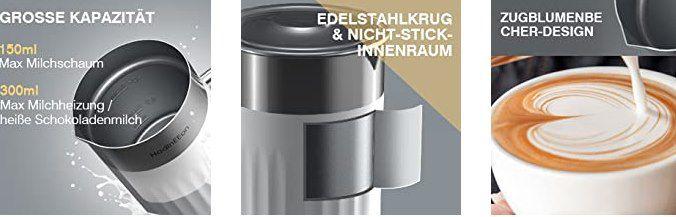 HadinEEon MMF 920 Milchaufschäumer mit Wärmefunktion für 28,18€ (statt 47€)