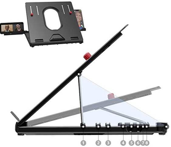TATE GUARD Laptopständer inkl. Handyhalterung für 7,49€ (statt 21€)   Prime