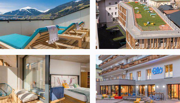 2 ÜN im Salzburger Land im 4* Hotel Blü inkl. HP & Wellness ab 94€ p.P.