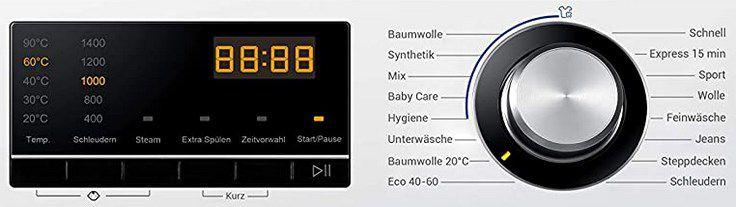 Haier HW80 BP14636N Waschmaschine 8kg für 259,90€ (statt 312€)