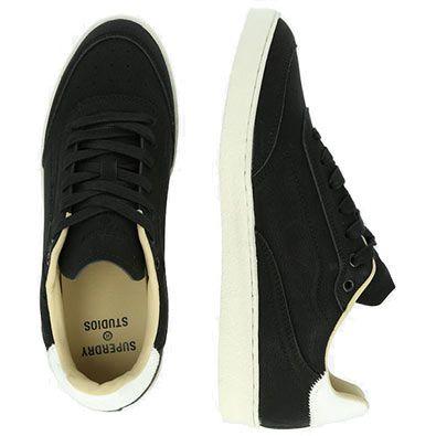Superdry PREMIUM SLEEK Sneaker in Schwarz für 29,90€ (statt 50€)