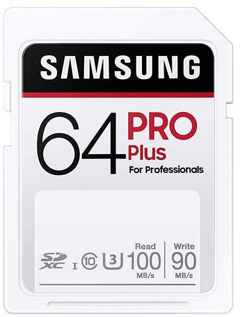 Samsung PRO Plus 64GB SDXC für 7,99€ (statt 22€)  Prime