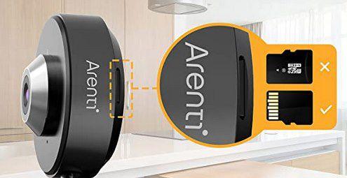 Arenti INDOOR1 2K Überwachungskamera für 16,99€ (statt 33€)