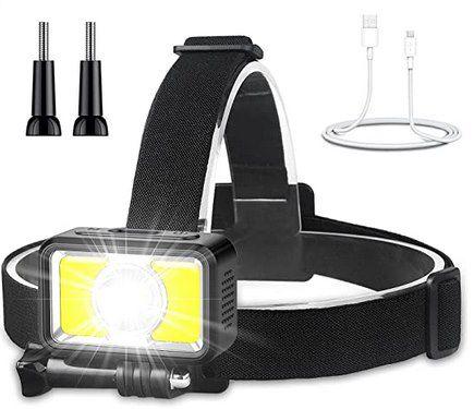 Avaspot 2in1 Stirn  & Lauflampe mit 1000 Lumen für 6,96€ (statt 18€)   Prime