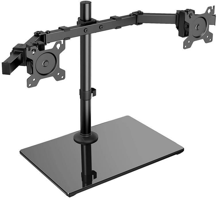ErGear Doppelmonitor Halterung für 13 32 Zoll Bildschirmen mit Sockel für 20€ (statt 50€)