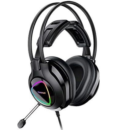 Tronsmart Alpha Gaming Headset mit Mikrofon Geräuschunterdrückung & 50 mm Treiber für 19,99€ (statt 28€)