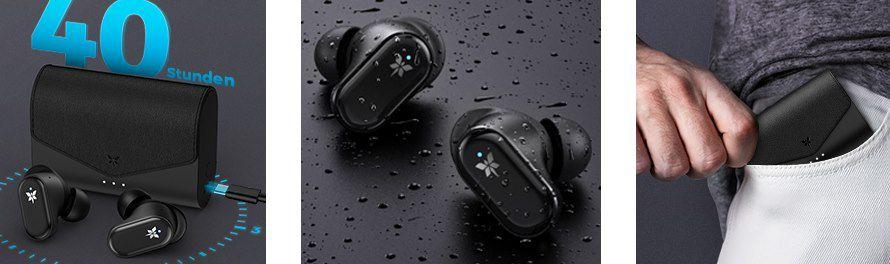 AXLOIE F1   BT5.2 TWS InEar Kopfhörer mit ANC & bis zu 40h Laufzeit für 13,99€ (statt 70€)