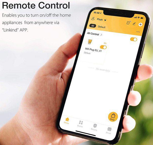 4er Pack: Linkind Smart Steckdose mit 10A, Alexa & Google Home Support für 24,49€ (statt 50€)