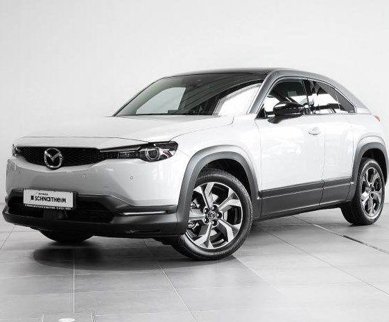Sofort verfügbar: Mazda MX-30 Elektro mit 145 PS für 179,57€ mtl. – LF: 0.51 (inkl Full Service)