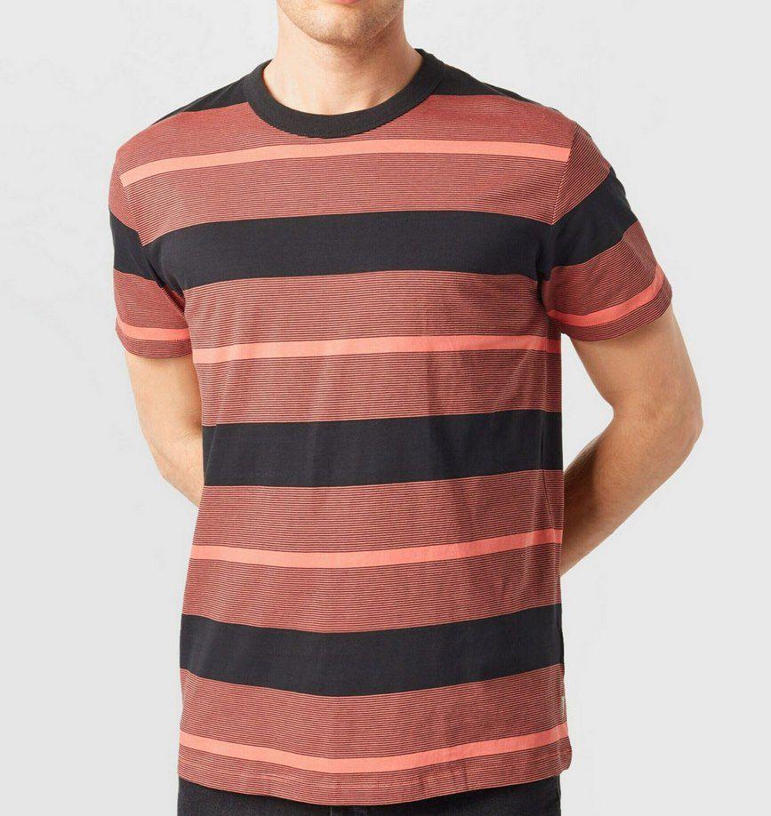 Espirt T Shirt STRIPED in Coral Red für 7,45€ (statt 18€)