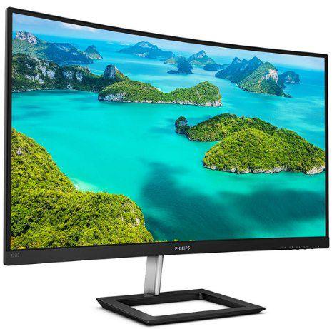 Philips 328E1CA   31.5 Curved Monitor mit UHD, 4ms & 60Hz für 332,10€ (statt 366€)