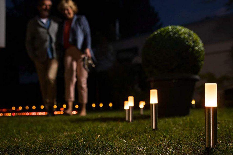 LEDVANCE Smart+ LED RGBW Gartenleuchte für 35,99€ (statt 59€)