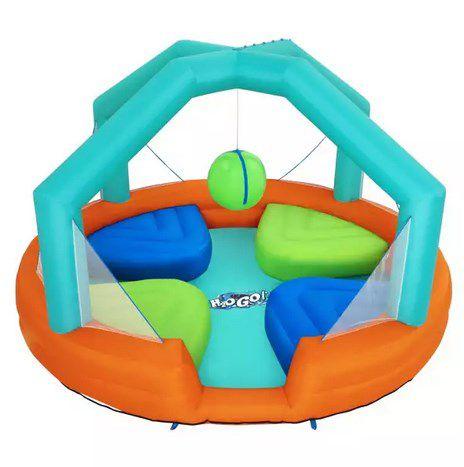 Bestway H2OGO! Wasserpark Dodge & Drench, Polyester, 450 x 450 x 268 cm  für 214,19€ (statt 300€)
