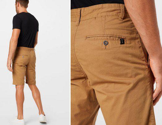 2er Pack: Indicode Bermuda Shorts in Khaki & Schwarz für 24,95€ (statt 50€)