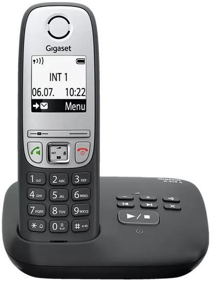 GIGASET A 415 A Schnurloses Telefon in Schwarz für 26,99€ (statt 33€)
