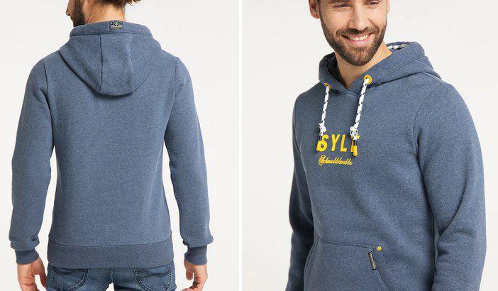 Schmuddelwedda Hoodie Sylt in Blau für 49,90€ (statt 77€)
