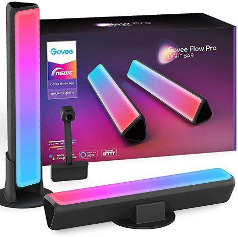 Govee Flow Pro Lightbar RGBIC LED TV Hintergrundbeleuchtung für 27 – 45 Zoll für 59,99€ (statt 80€)