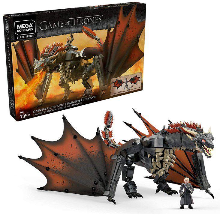 Mega Construx GKG97   Game of Thrones Daenerys und Drogon für 30,83€ (statt 48€)