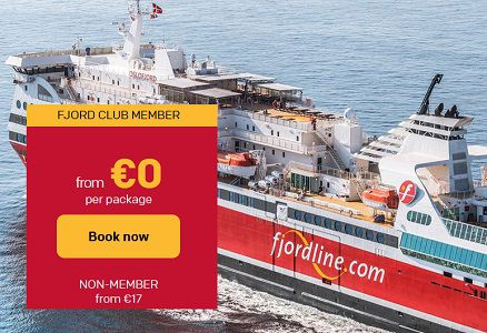 Gratis mit der Fjordline Fähre von Schweden nach Norwegen und zurück (statt ab 17€)