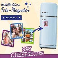 Gratis: Mit American Style Cheesecake Kuchenmischungen von Dr. Oetker einen Foto-Magneten gestalten