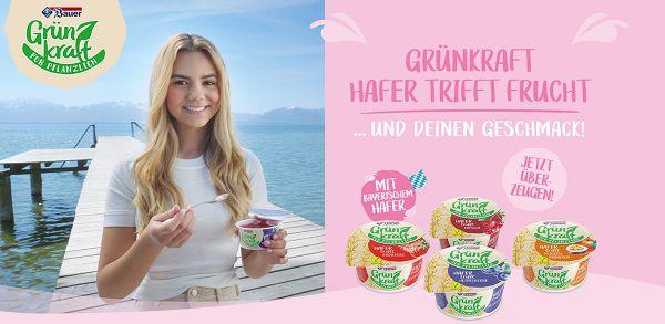 Vegane Joghurt Alternative von Bauer gratis ausprobieren