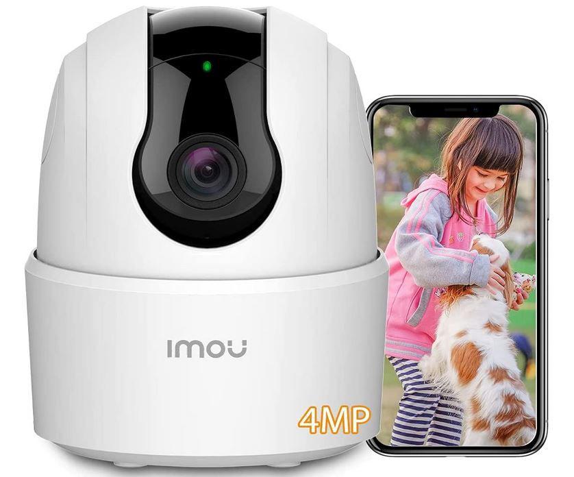 Imou 4MP   WLAN IP schwenkbare Innen Überwachungskamera mit Alexa für 34,79€ (statt 46€)