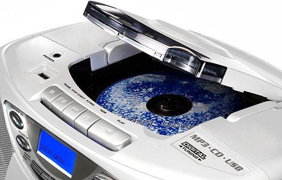 Karcher CD Radio RR 510N W   Boombox (CD Player, UKW Radio und USB) für 62,94€ (statt 69€)