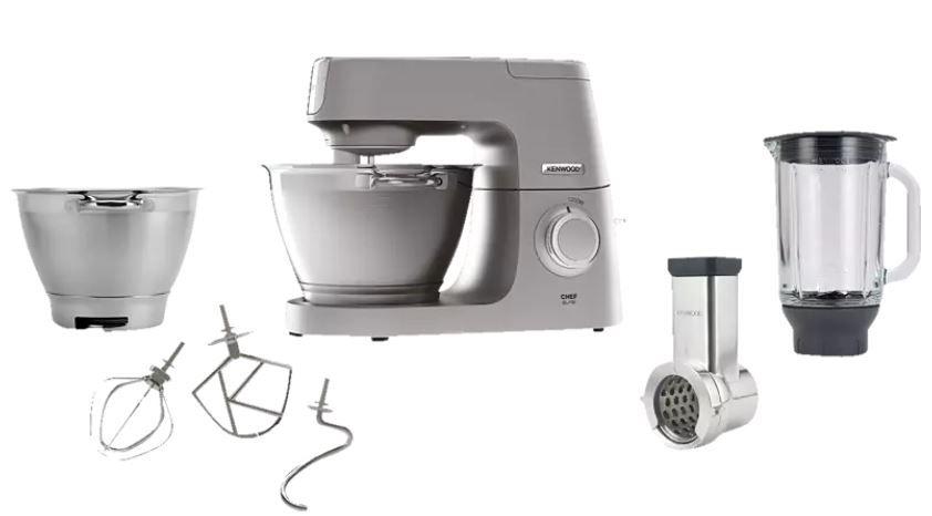 MediaMarkt Members Only Aktion – z.B. KENWOOD KVC 5391 S Chef Elite Küchenmaschine für 489€ (statt 540€)