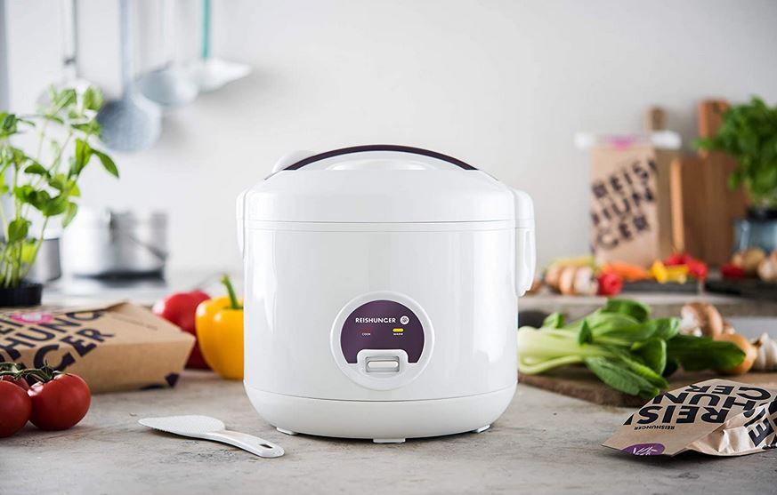 Reishunger Dampf Reiskocher für 29,99€ (statt 38€)
