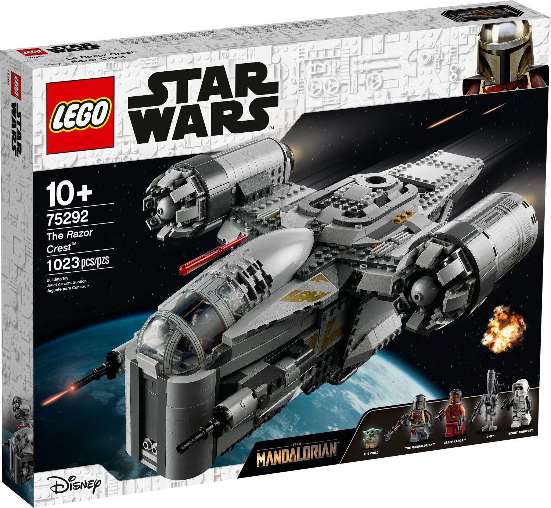 Lego 75292 Star Wars Der Mandalorianer – Razor Crest mit Baby Yoda für 109,50€ (statt 130€)